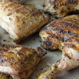 Recept: Grilled Chicken Legs with Dijon & White Wine Glaze