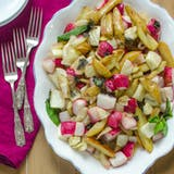 Sida Dish Recipe: Roasted Potatoes, Fennel & Radishes with Lemon Brown Butter Sauce